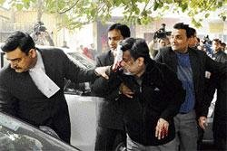 Bloody attack on Aarushi's father