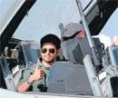 Shahid flight adds drama to air show