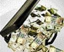 Forester held with 'bribe cash'