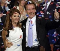 Schwarzenegger, Shriver part ways after 25 years