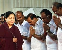 Jaya takes charge with 33 in cabinet