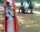 Children's parks turn criminals' den