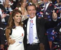 Wife forced Schwarzenegger to admit love child