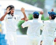 Indians hit back to stay even