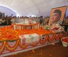 At Hazarika's last rites, sea of humanity sheds tears