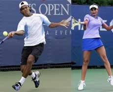 Somdev, Sania advance to second round of US Open