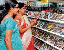 Sapna Book House opens on Residency Road