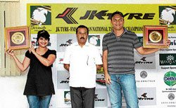 Satish-Savera win TSD rally titles