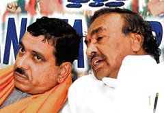 Party purged of pesky elements, say BJP leaders