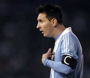 Messi admits he was not fit against Colombia
