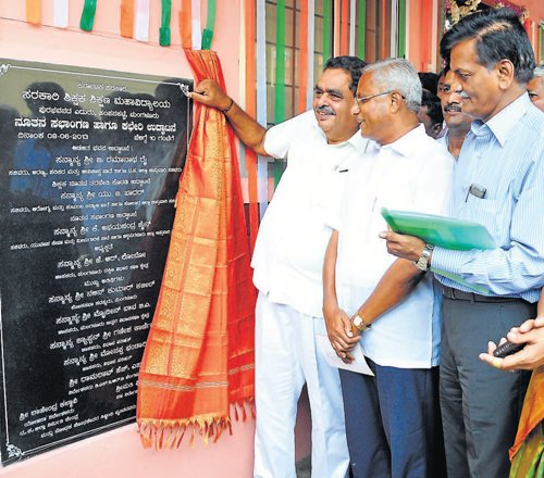 Govt emphasising on high school education