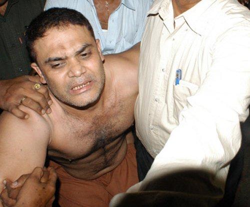 Police arrest rowdy, 7 aides