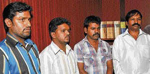Rowdy arrested, plan to bump off rival foiled