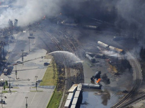 At least 80 missing in Canada train blaze: firefighter