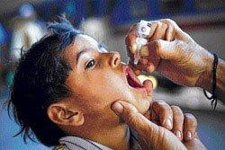 114 children given Hepatitis B vaccine instead of polio drops