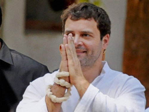 Rahul may be declared PM candidate at AICC meet