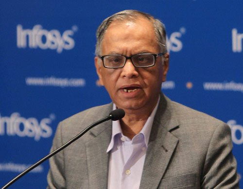 Despite top-level exits, Infy stock up 50% since Murthy return