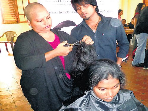 Donate your hair, gift a wig to a cancer patient