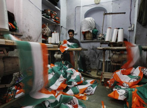 Elections put a smile on faces of merchandise makers