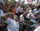 Hyderabad tense, TRS activists on rampage spree