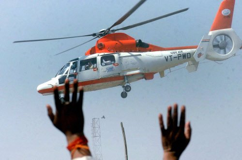Choppers churn cash, as netas fly for campaigning