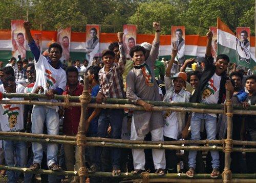 'Har Har Modi' slogans raised during Rahul's rally