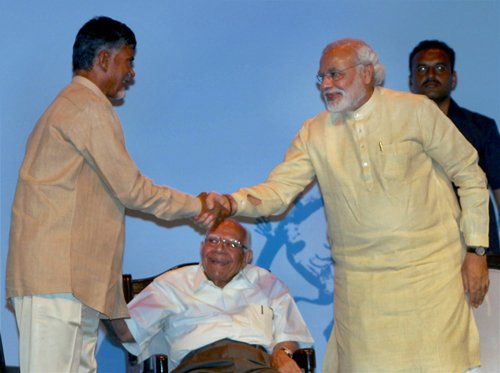 Naidu to meet Modi on May 25 to decide on TDP cabinet berths