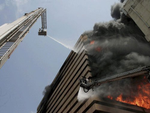 Water curtains, chutes must for high-rise buildings