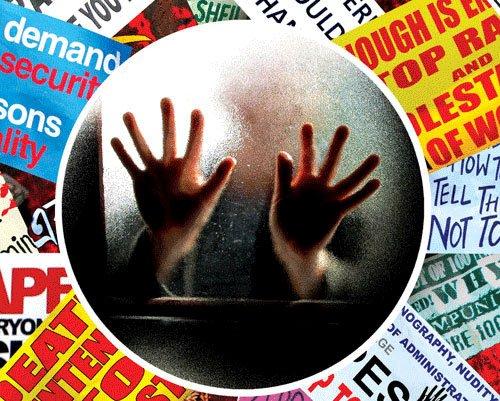 Two teenage sisters gangraped, all three accused held