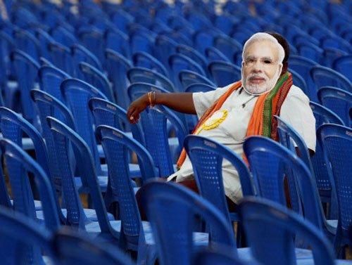 "Modi's pics in ""negative faces"" list: 6 persons arrested"