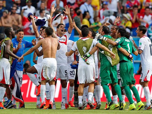 Costa Rica stun Italy 1-0 to enter last 16; England ousted