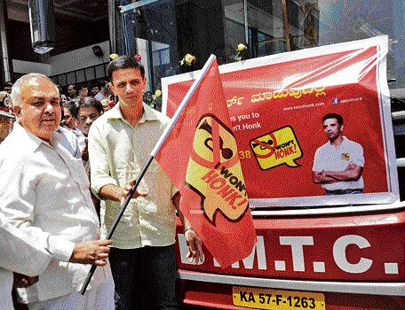 BMTC joins hands in campaign against honking