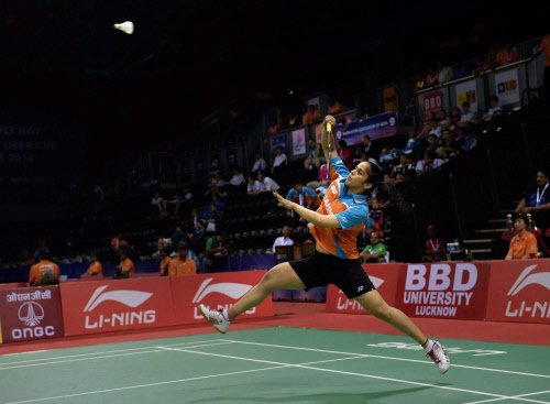 Saina in final of Aus Open