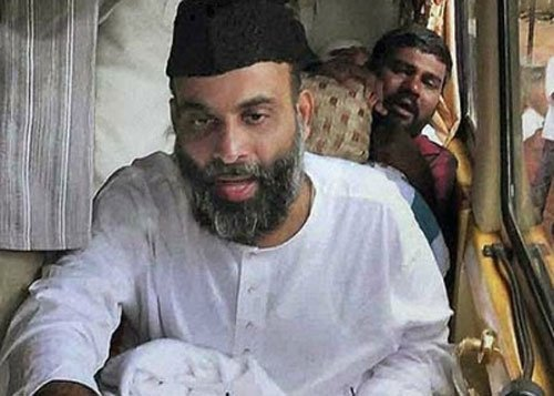 Kerala's People's Democratic Party (PDP) founder leader Abdul Nasser Madani (DH File Image)