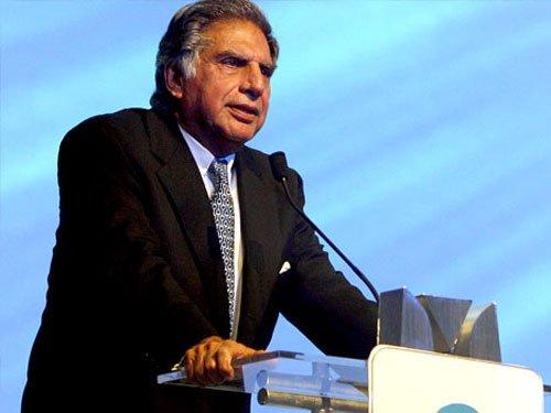 Give Modi time to turn the economy around: Ratan Tata