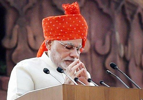 I'm your 'pradhan sewak' and not 'pradhan mantri': Modi