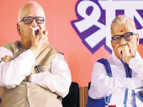 Advani, Joshi axed from BJP board