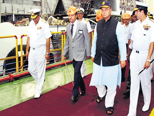 First Scorpene submarine to become reality soon