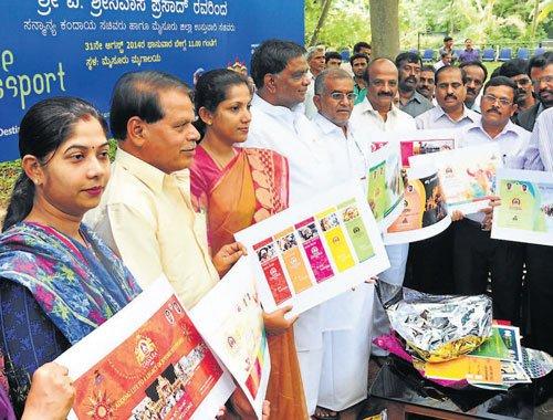 Minister launches 'Mysore Tourist Passport'