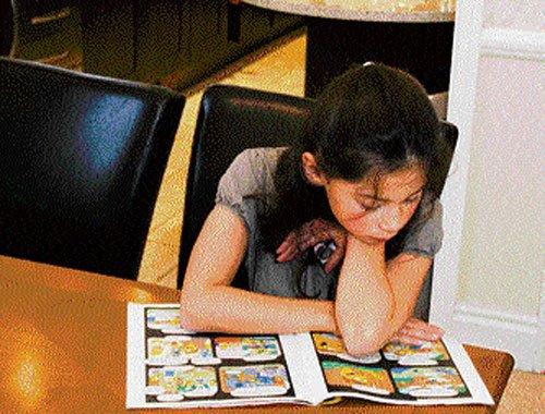 Reinforcing the reading habit in children