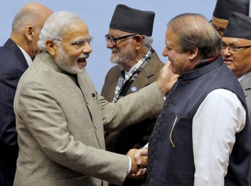 Modi, Sharif bonhomie gives fresh boost to Saarc