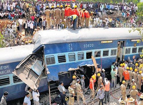 Muri Express derailment: 3 trains cancelled,several diverted