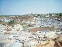 Quarry is affecting nature in Kadur