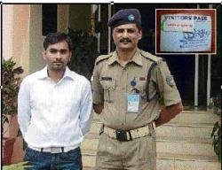 MCA students develop security system for CRPF