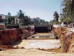 Inadequate civic amenities