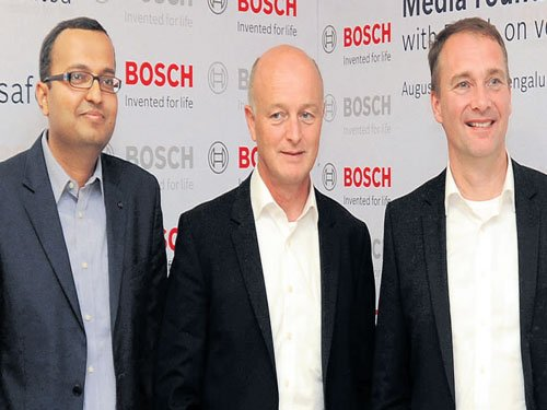 Bosch gives auto safety a 'Make in India' push