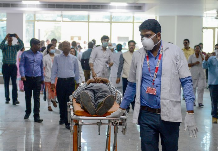 A total of 869 samples have reported negative, including 103 samples on Wednesday. (Credit: AFP Photo)