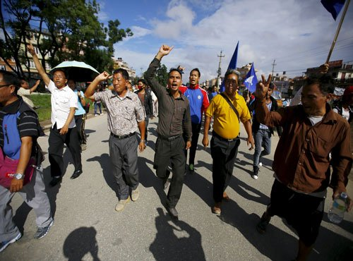 9 killed as pro-statehood protestors attack police in Nepal