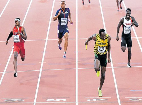 Record for Eaton, cheers for Bolt