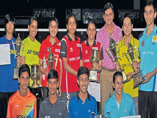 Talar, Shikha claim U-19 crowns